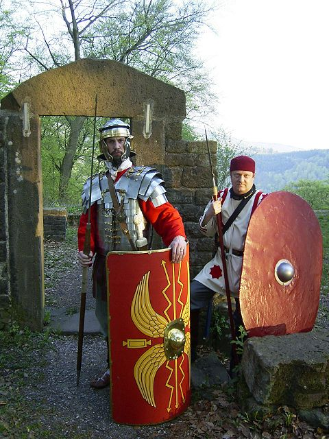 Ancient Romans in Heidelberg