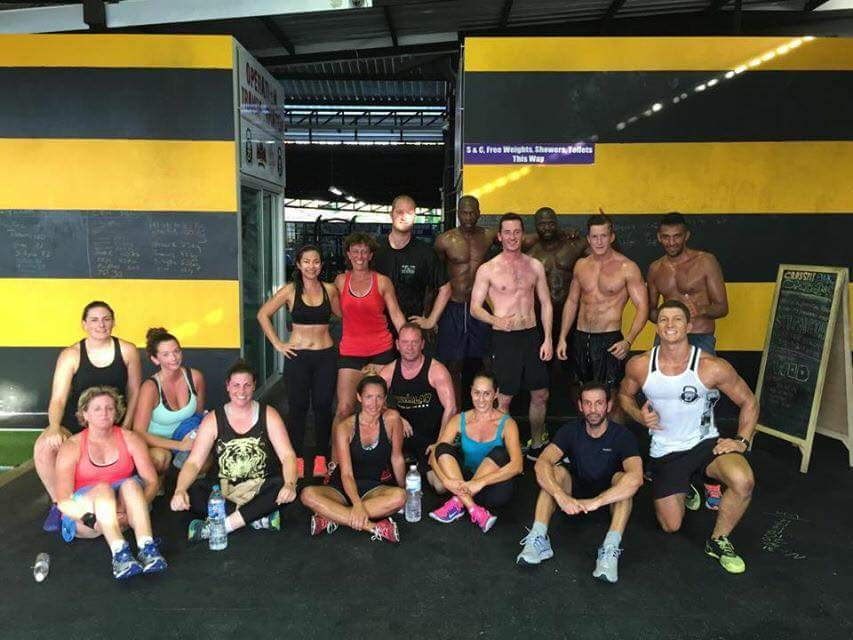 Unit-27 Strength, Conditioning & CrossFit Camp Phuket 2015