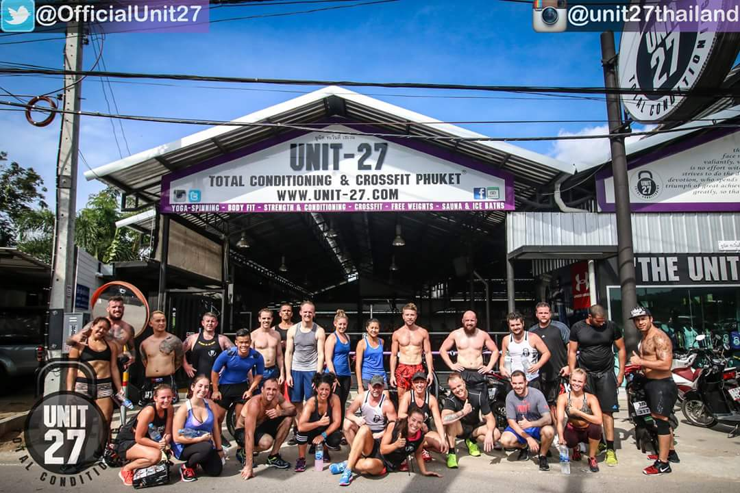 Unit-27 Strength, Conditioning & CrossFit Camp Phuket 2016