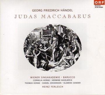 Händel: Judas Maccabäus, Konzerthaus Wien, Barucco, Heinz Ferlesch