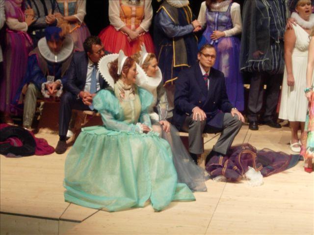 Hermine Haselböck as Brangäne in Tristan und Isolde @Tyrolean Festival Erl (2009)