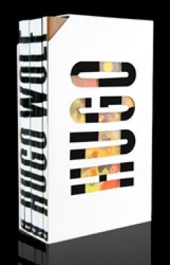 Hugo Wolf: Lieder Collector's Edition (Label: Departure) 2010 - 5 DVDs mit Liedern von Hugo Wolf und Visualisierungen, Lieder von Mörike, Goethe, Eichendorff, Heine, Keller,, Michelangelo u.a.  Italienisches und Spanisches Liederbuch mit Angelika Kirchsch
