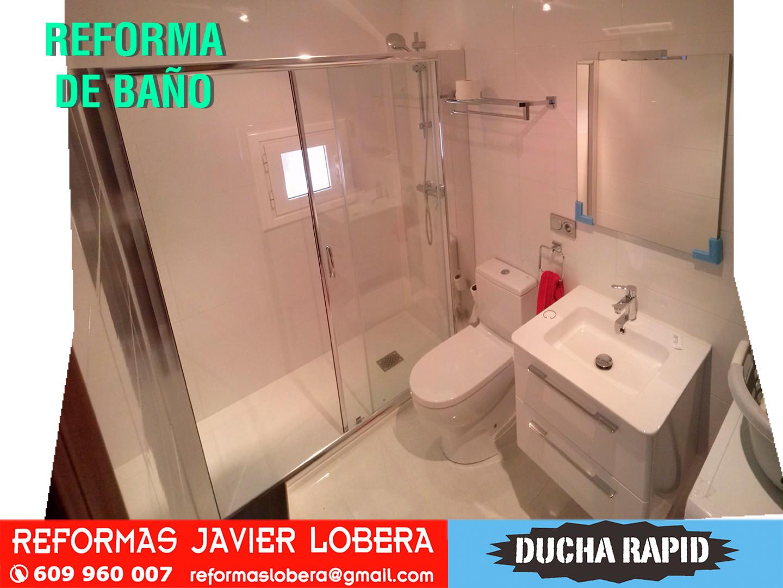reforma de baño completo incluida ventana de reducidas dimensiones