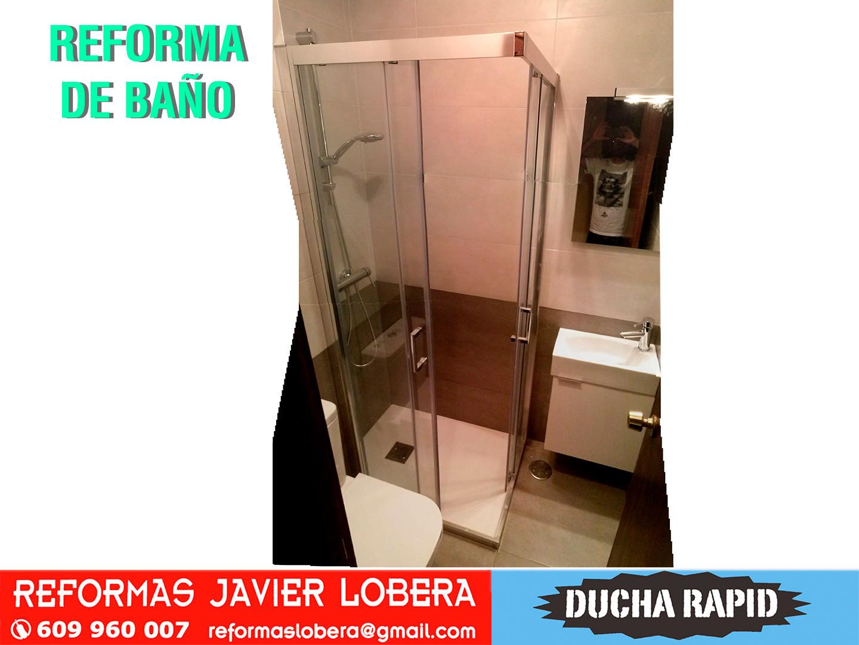 reforma de baño de reducidas dimensiones