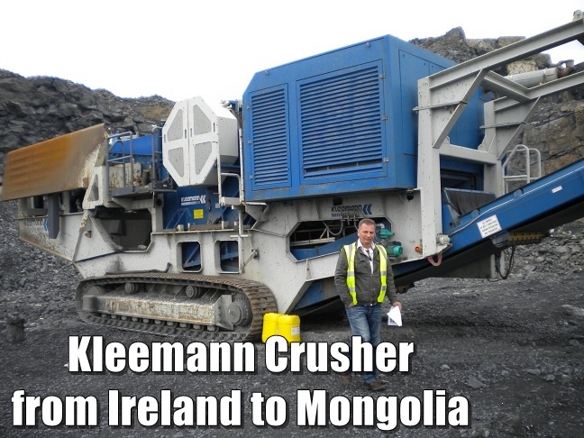 succesfully supply of a crusher for mongolia
