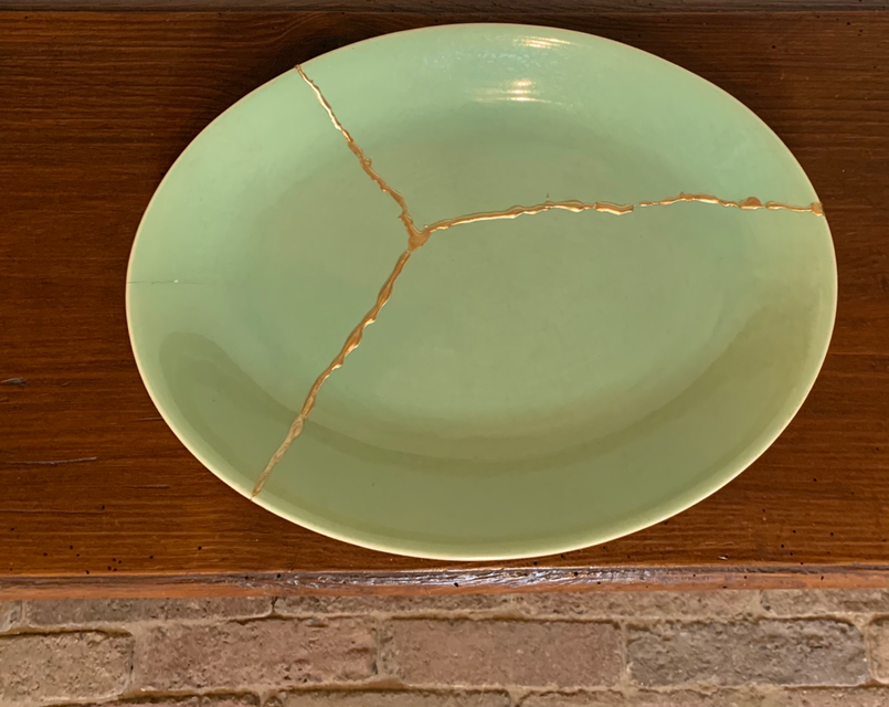 kintsiugi workshop goud lijm gouden littekens perfecte imperfecties kennismaking met kintsugi