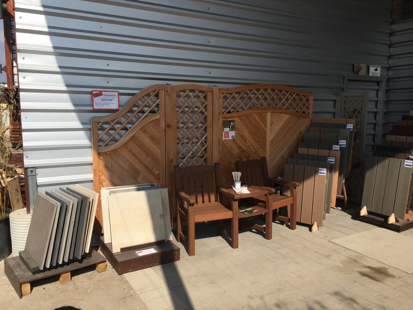 Sichtschutz und Möbel