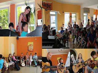 Musikschüler Konzert in Soest, Musik und Gesangsschule Conrad Boenigk.