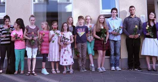 musikschule grandweg soest, musikschüler konzert.