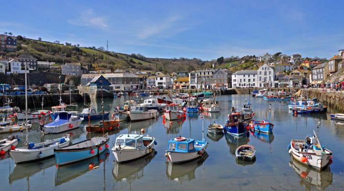Mevagissey è un villaggio di pescatori della costa meridionale della Cornovaglia