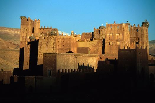 Architecture exceptionnelle d'une kasbah