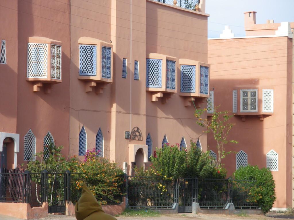 Une façade à Ouarzazate