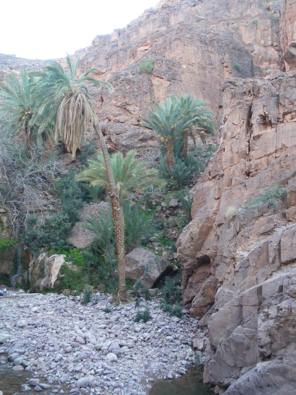 Site de la cascade d'Agdz