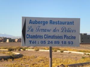 Auberge La Terrasse des Délices Ouarzazate