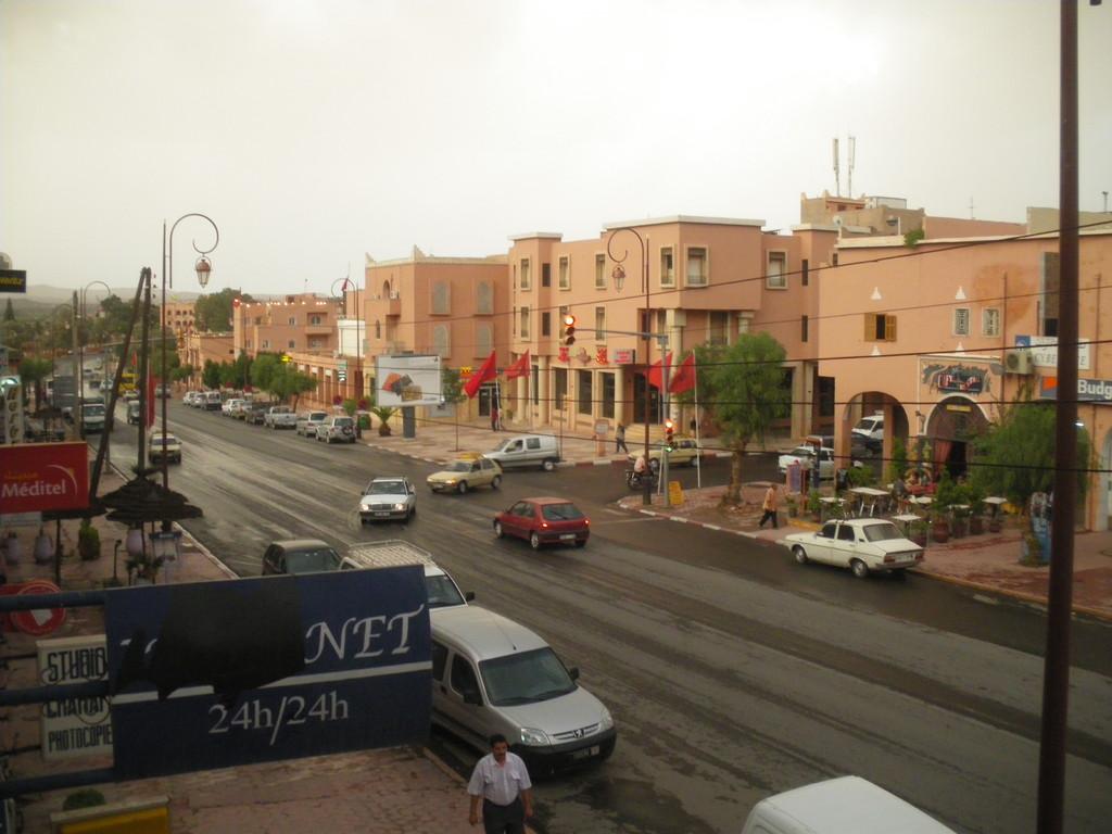Ouarzazate un soir d'orage