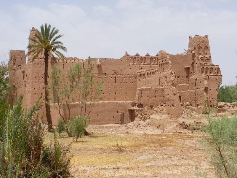 Une des nombreuses kasbahs près de Skoura