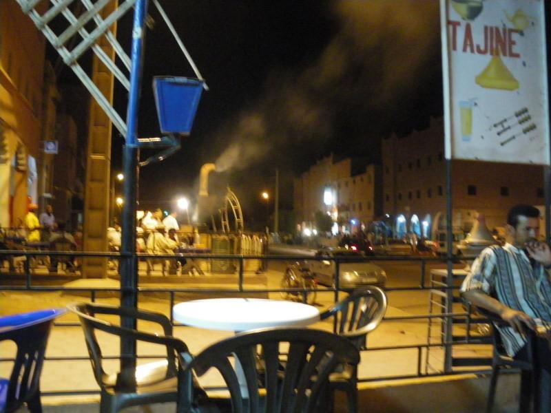 Tabounte et sa vie nocturne