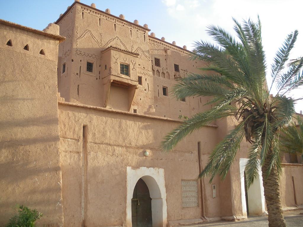 Entrée de la kasbah de Ouarzazate