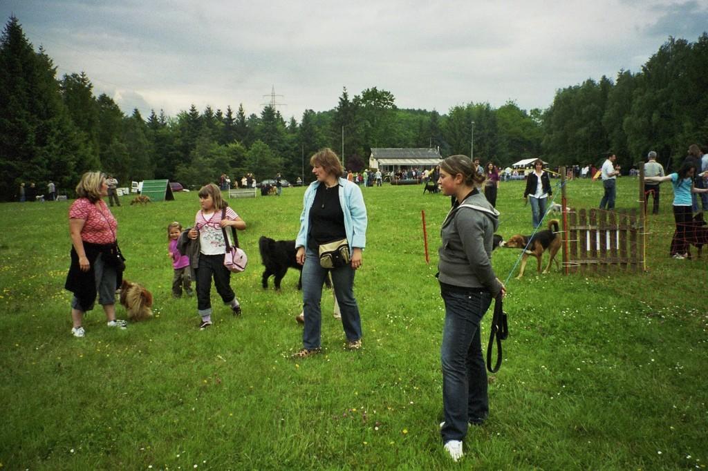 Mai 2008 Tag der offenen Tür bei Tier in Not VK