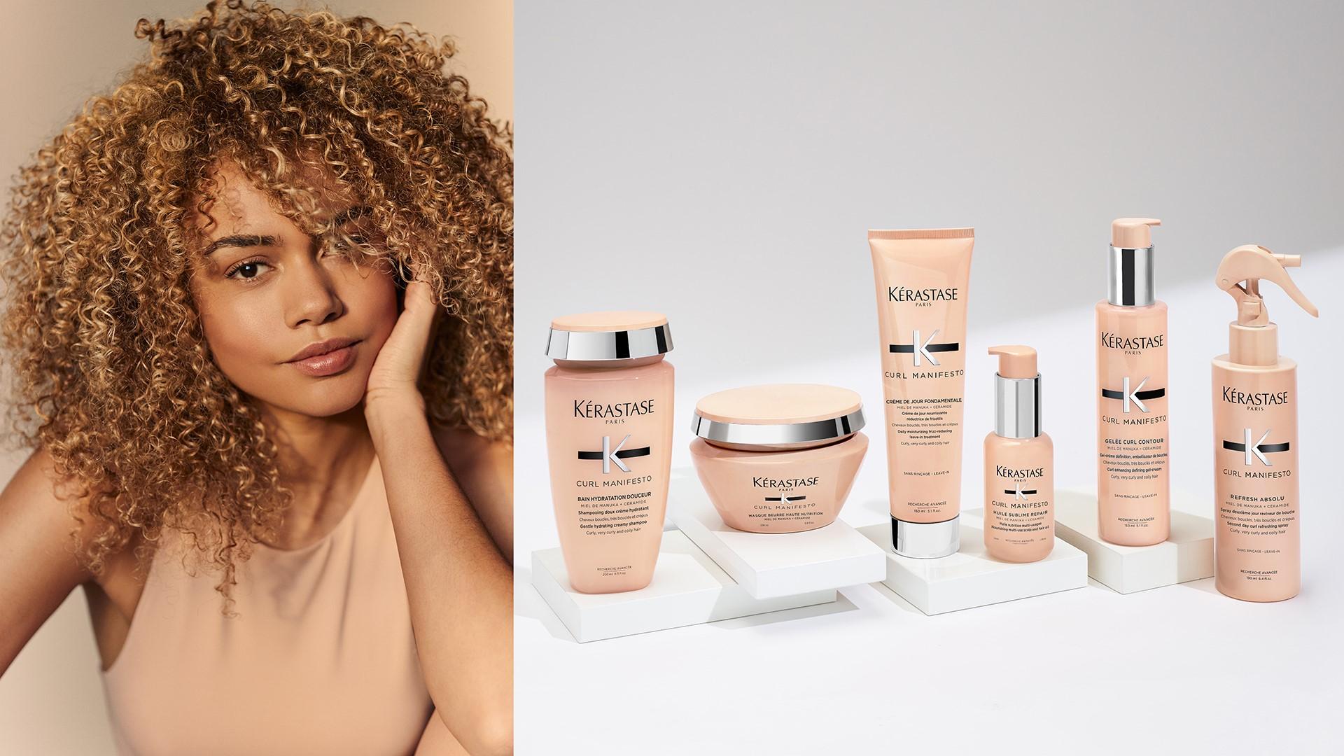 Kérastase Curl Manifesto: Die professionelle Haarpflege für formschöne Locken