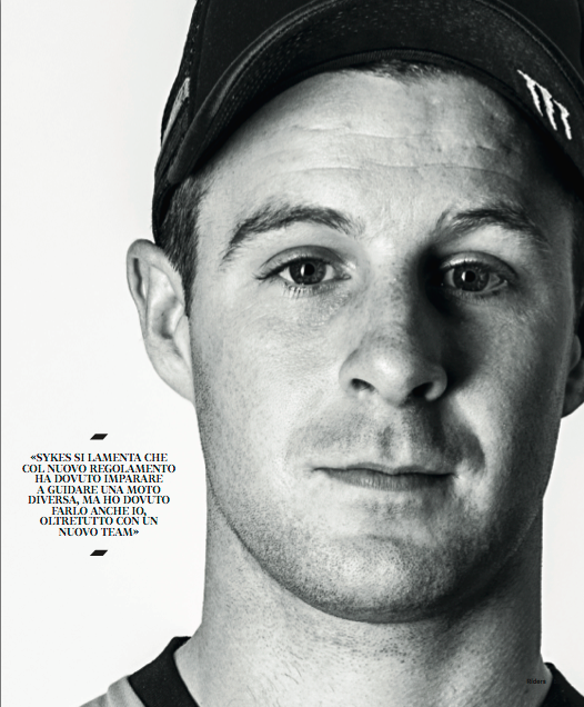 Jonathan Rea for Riders Magazine 82# May 2015