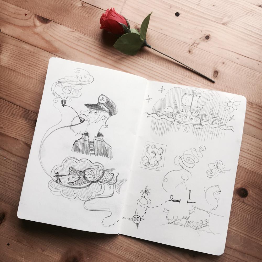 Hello my dearest sketchbook