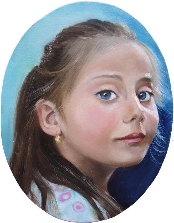 Ritratti di bambini | Dipinti di bambini | Artisti di