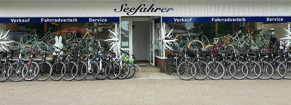 Fahrradverleih in Wyk auf Föhr