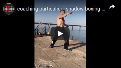 Shadow boxing en krav maga