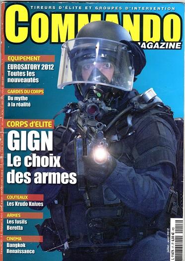 Karim clémenceau commando magazine