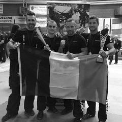Champion D'europe 2018 krav maga