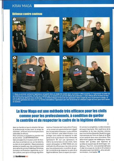 Karim clémenceau dans self défense mag (1)