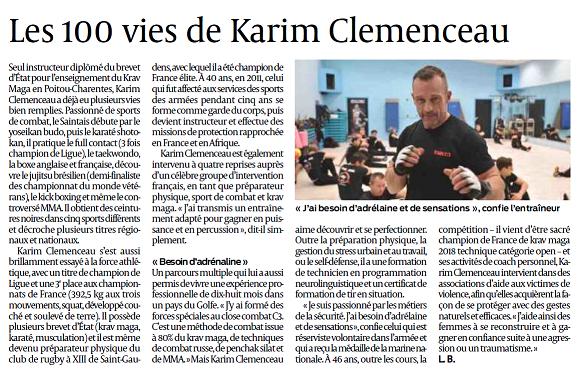 Karim clémenceau et médias (k)