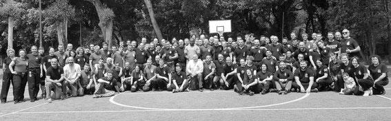CombatLine-IKMI Summer Camp International 2019 Summer en Italie avec 9 pays représentés