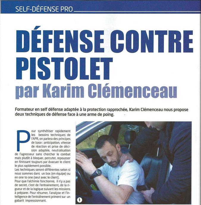 Karim clémenceau self défense pro