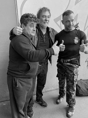 Karim Clémenceau, Olivier Marchal et Alain Figlarz