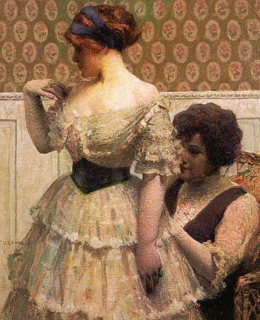 """"""" El vestido apropiado"""" de William Cahill"""