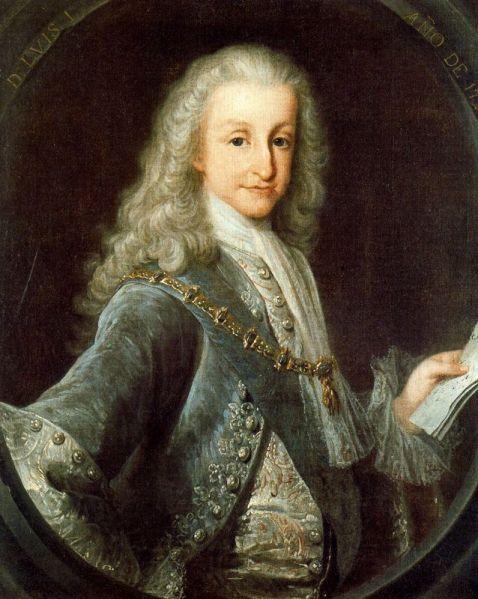 1724, Luis I