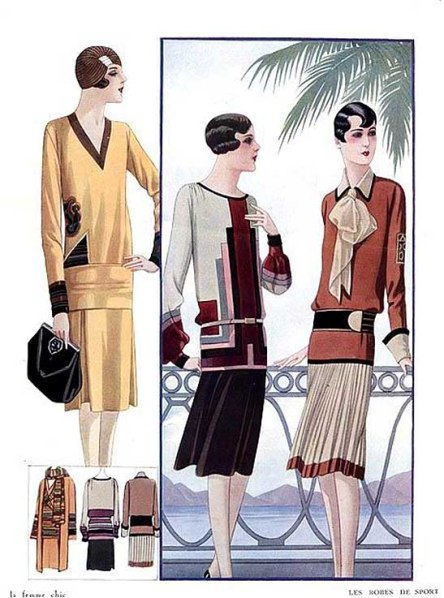 Figurines de moda 1925-27