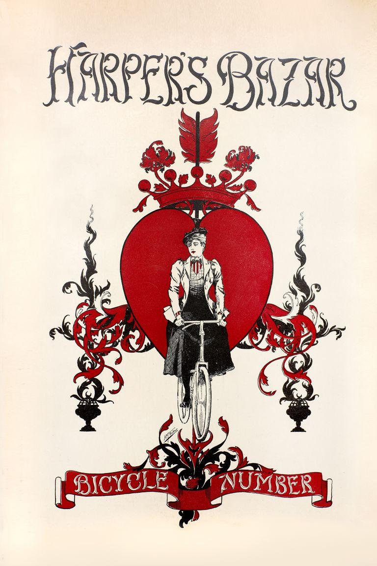 """""""Harper's Bazaar"""" 1896"""