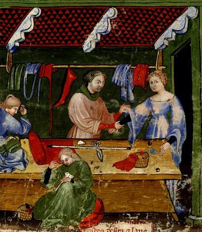Sastrería siglo XV