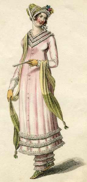 Vestido para la costa 1819