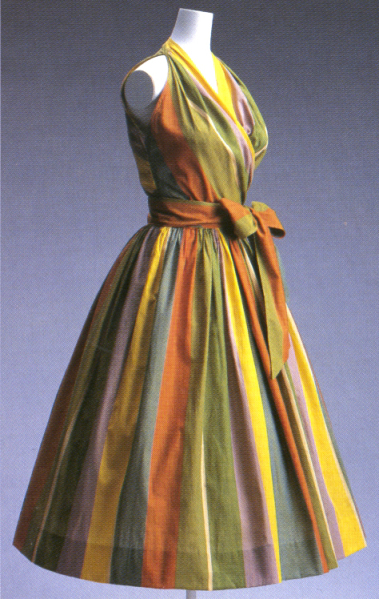 Vestido McCardell 1940