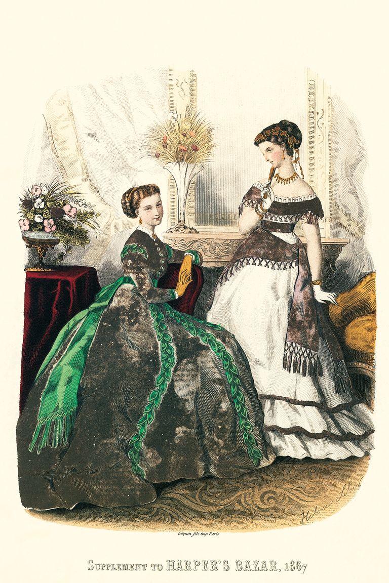 """""""Harper's Bazaar"""" 1867"""