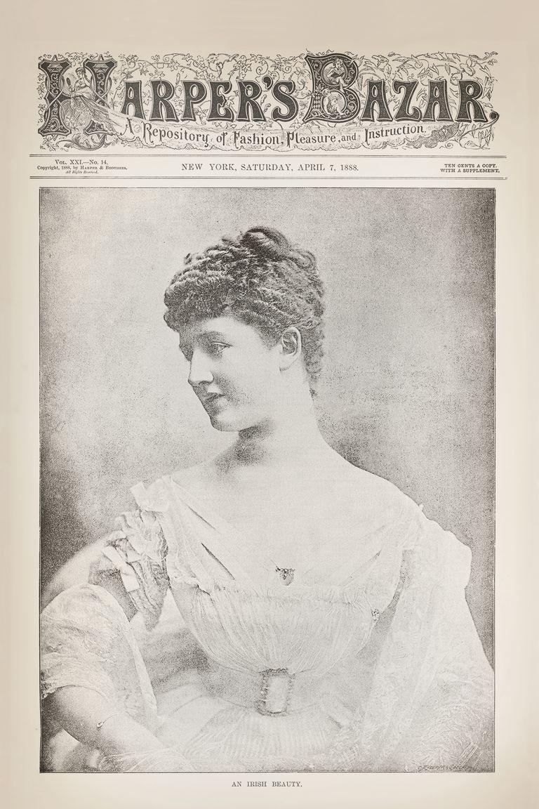 """""""Harper's Bazaar"""" 1888"""