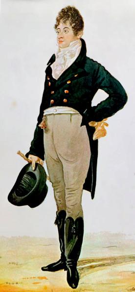 El Bello Brummell, siglo XIX