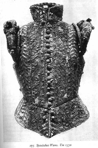 Coleto o chaleco Siglo XVI