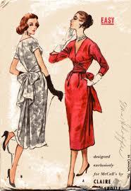 Patrones de modelos 1950