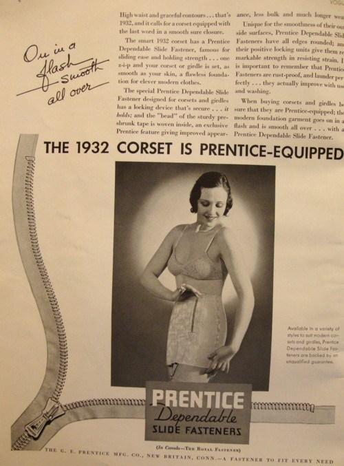 corset 1932