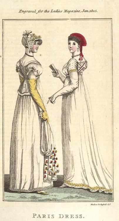 """Lady´s Magazine"" 1805"